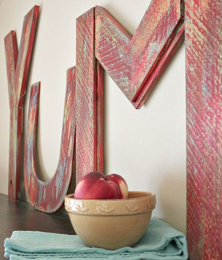yum how to make marquee letters, diy, home decor, woodworking projects