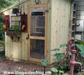 Woodworking Shed Garden Picket Fence, Diy, Gardening, Outdoor Living,  Repurposing Upcycling,