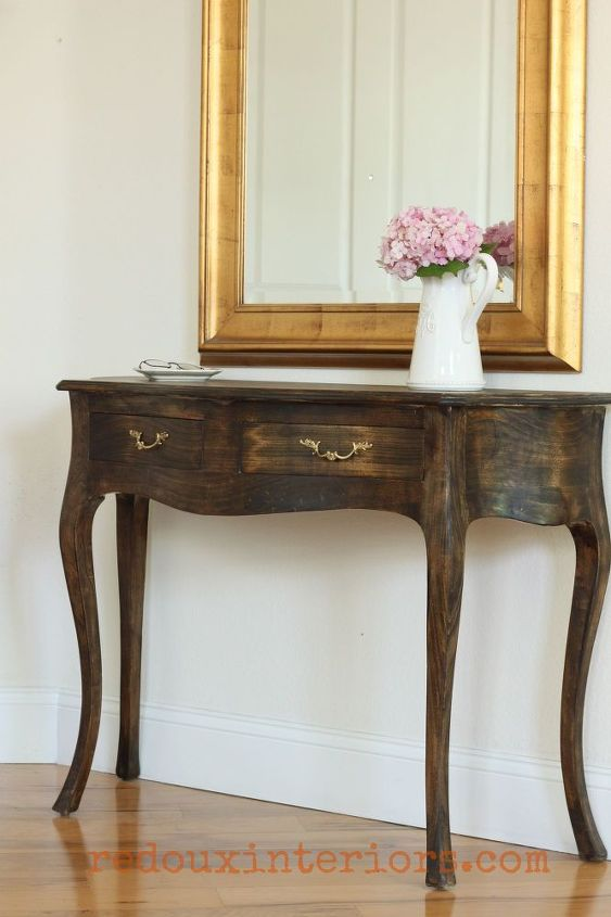 make a beautiful entry to your home with a few simple wow pieces, foyer, painted furniture
