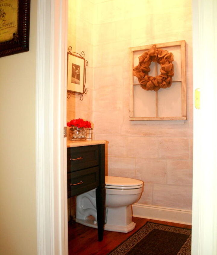 My transfomed Guest Bathroom