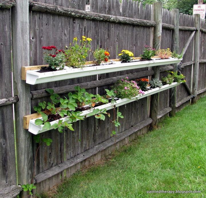 Update: Gutter Garden in Bloom | Hometalk