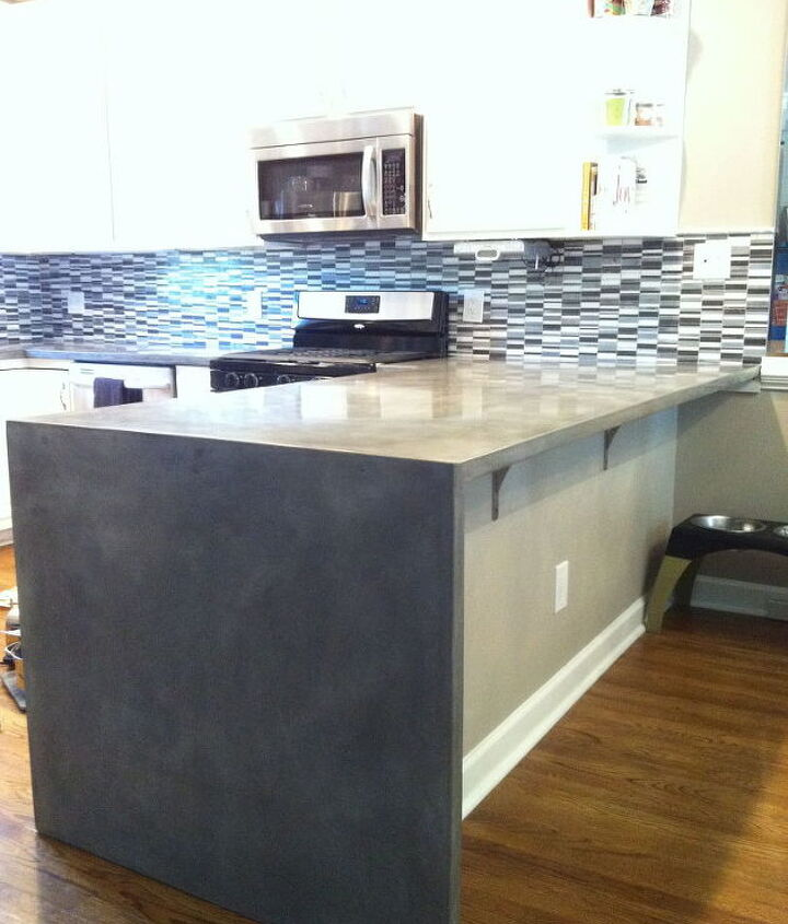 """Bar top with 41""""x36"""" dropped edge all one piece"""