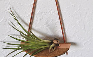 wall art copper pipe shelving air plant, crafts, wall decor
