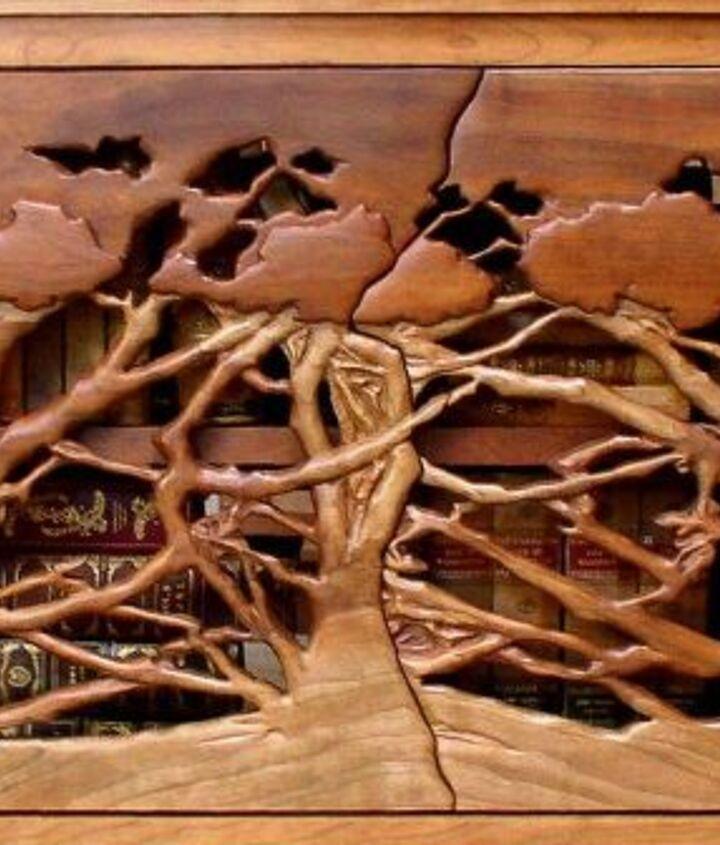 Heistand Carved Cherry Doors