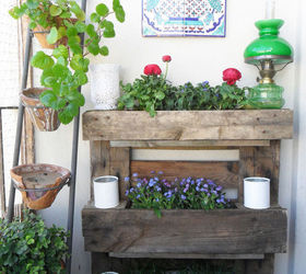 Pallet Wall Garden Balconies Small, Diy, Gardening, Pallet, Repurposing  Upcycling, Woodworking