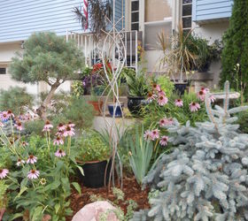 DIY Copper Garden Art