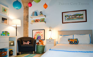 kids room, bedroom ideas, home decor, Sebastian s colorful big boy room