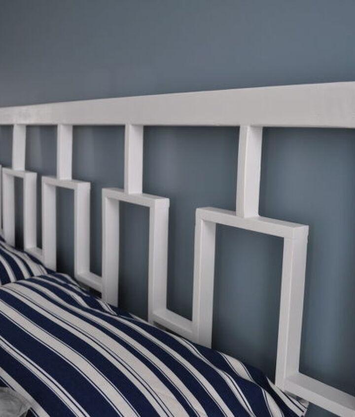 west elm inspired headboard, bedroom ideas, home decor