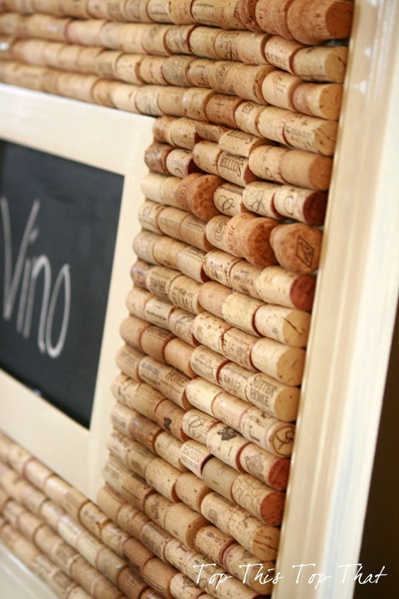 Combination Chalk/Cork board