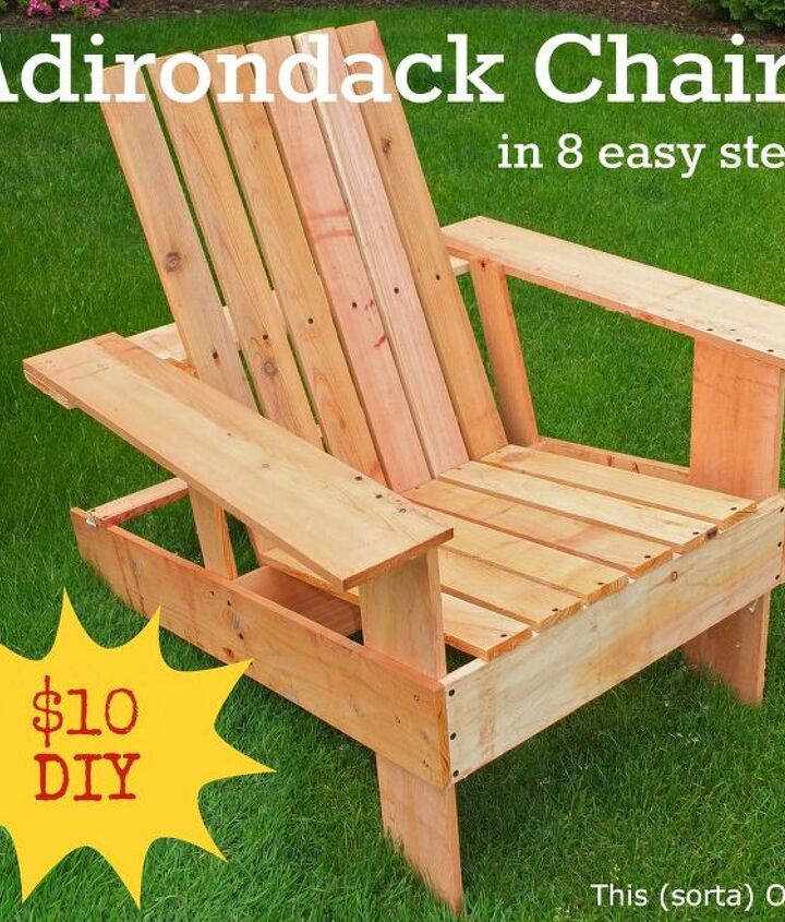 Full steps at http://www.thissortaoldlife.com/2012/07/07/adirondack-chairs-anyone-can-build/
