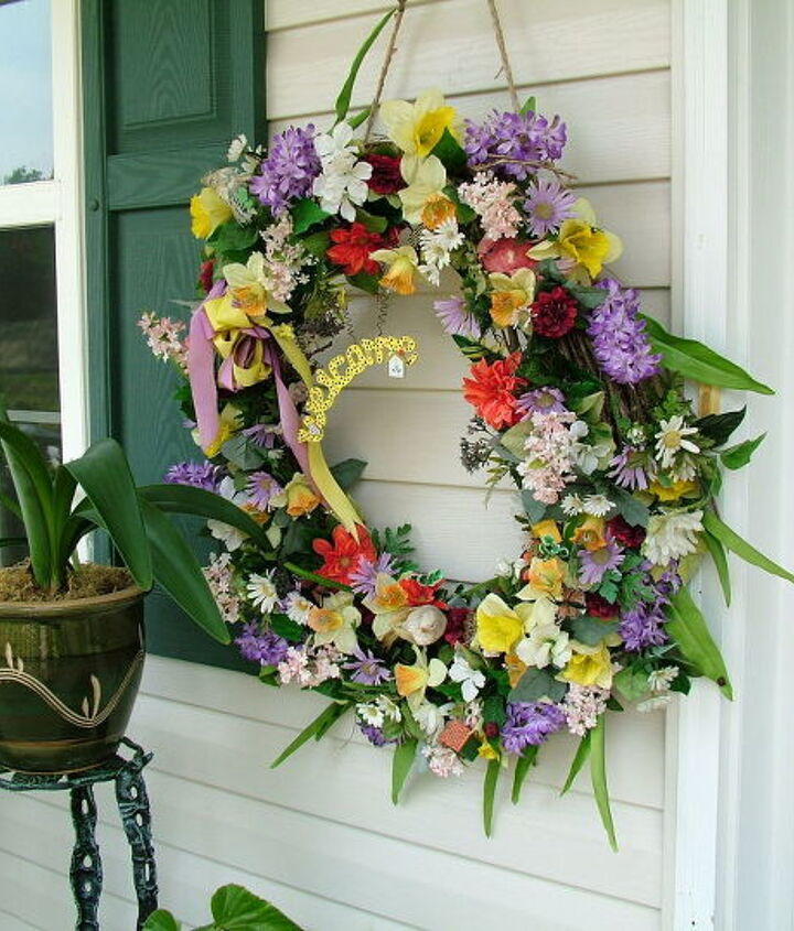 2005 Edition - Summer Grape Vine Wreath Pastels