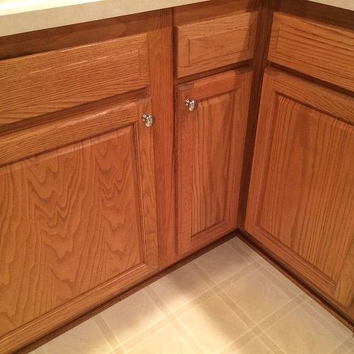 Best Which hardwood with honey oak kitchen cabinets?   Hometalk UH39