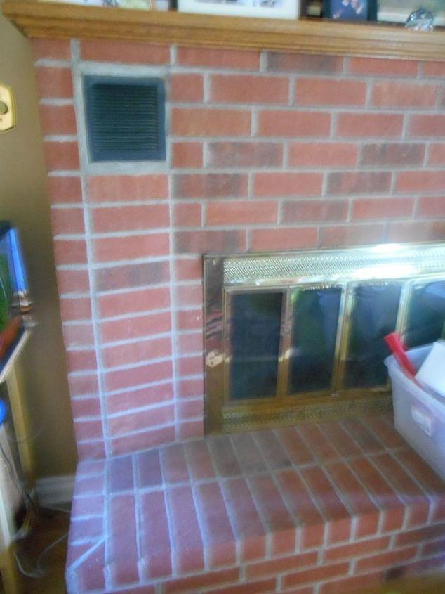 fireplace redo remodel gas renovation, fireplaces mantels, home maintenance repairs