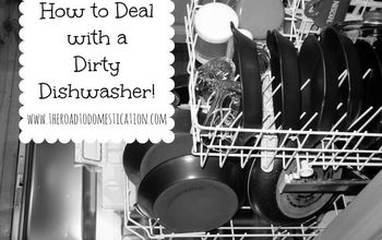 How to Deal With a Dirty Dishwasher!