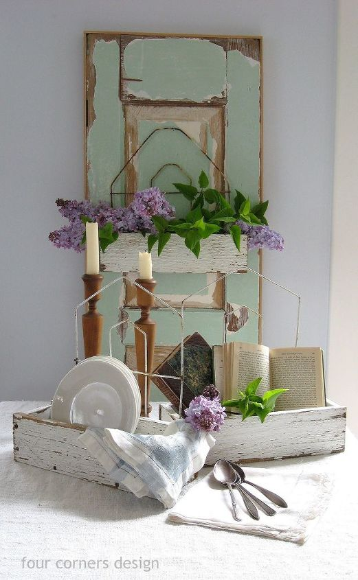 picket fence boards and wire garden fencing combine to make charming boxes, crafts, gardening, home decor, little white boxes made from fence boards and gardening fencing