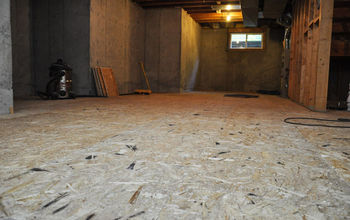 Finishing Our Basement With DRIcore Subfloor