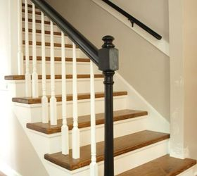 Staircase Carpet To Wood Reveal, Stairs, Woodworking Projects ...