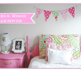 Bedroom Ideas Girls Room Pink White Gold Decor, Bedroom Ideas, Painted  Furniture, Reupholster
