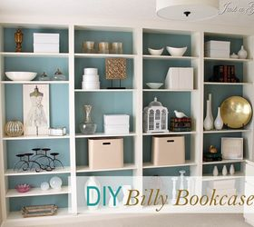 Superior Custom Shelving Ideas Part - 8: Diy Built In Bookcases, Painted Furniture, Shelving Ideas, DIY Custom  Bookcases From Ikea