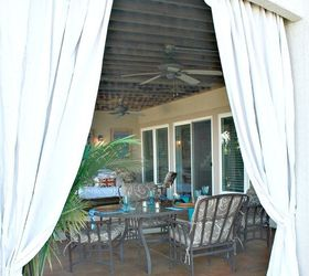 outdoor curtains inexpensive outdoor curtains curtain rods out of plumbing pieces home decor repurposing