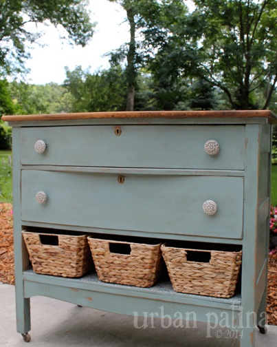 misfit dresser makeover, chalk paint, painted furniture, repurposing upcycling