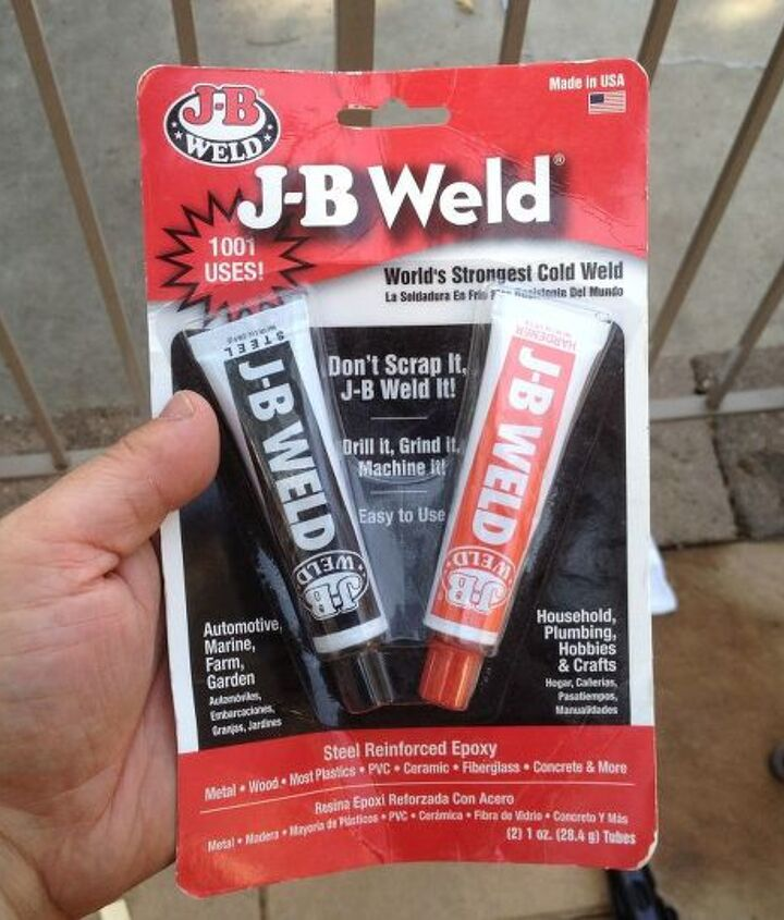 JB Weld is Awesome!