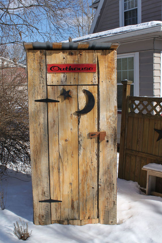 Outhouse Used For A Gardening Tool Shed Hometalk