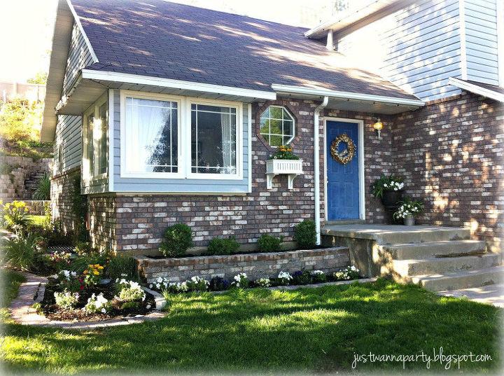 front yard renovation, curb appeal, landscape, outdoor living