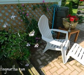 Beautiful Fun And Bright Brick Patio, Outdoor Furniture, Outdoor Living, Patio, Use  Vertical