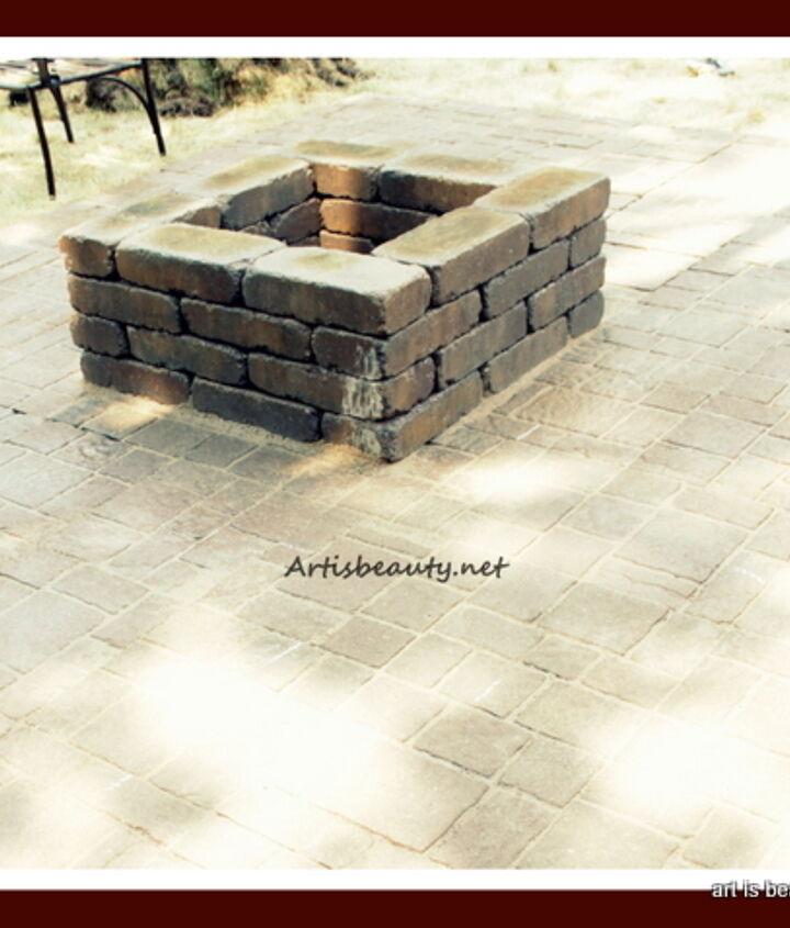 http://arttisbeauty.blogspot.com/2012/07/finished-brick-patio-and-firepit.html