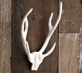 New Decorating Idea Diy Faux Antlers, Crafts, Home Decor, Painting