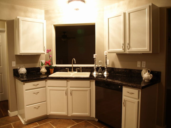 we painted our countertops the system we used is super durable no chipping and, countertops, kitchen design, painting