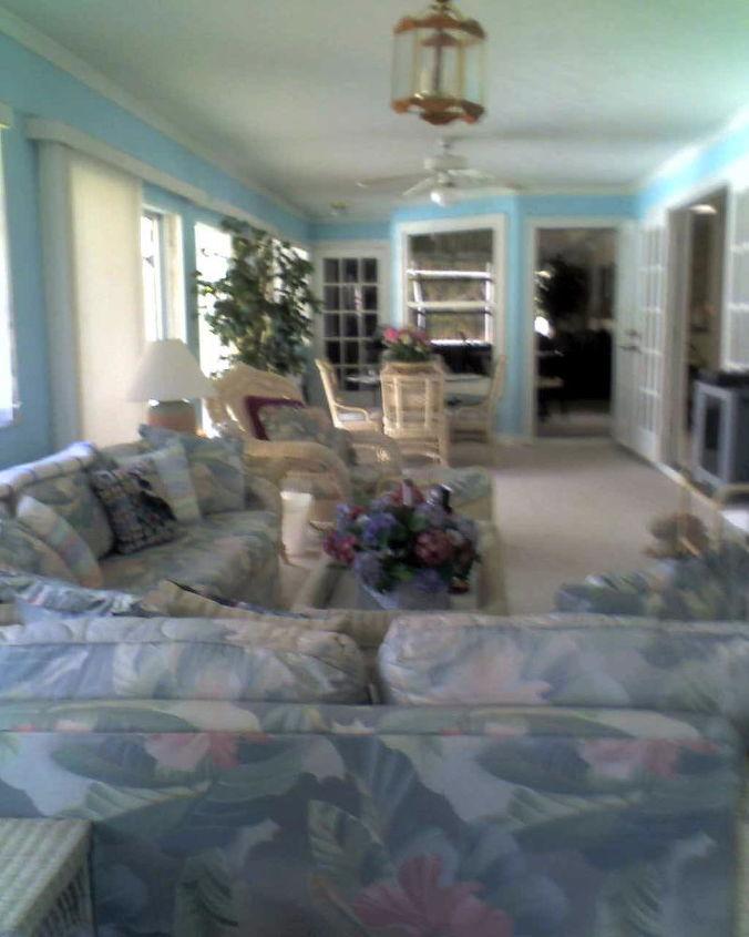 florida room renovation, home decor, outdoor living, Florida Room Before