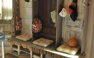 organizing entryway storage family locker unit, closet, foyer, organizing, shelving ideas, storage ideas