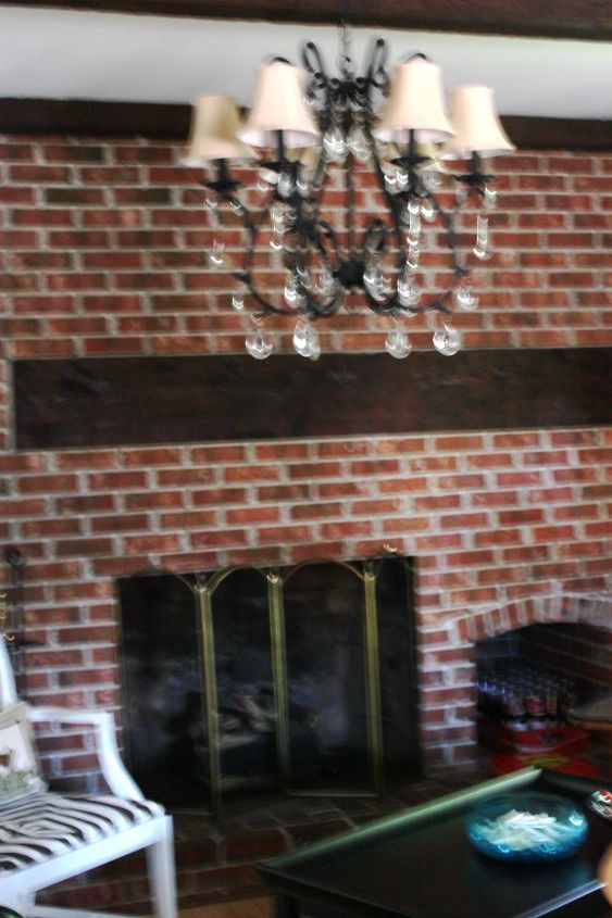 q need design help fireplace brick wall paint, concrete masonry, fireplaces mantels, painting, wall decor