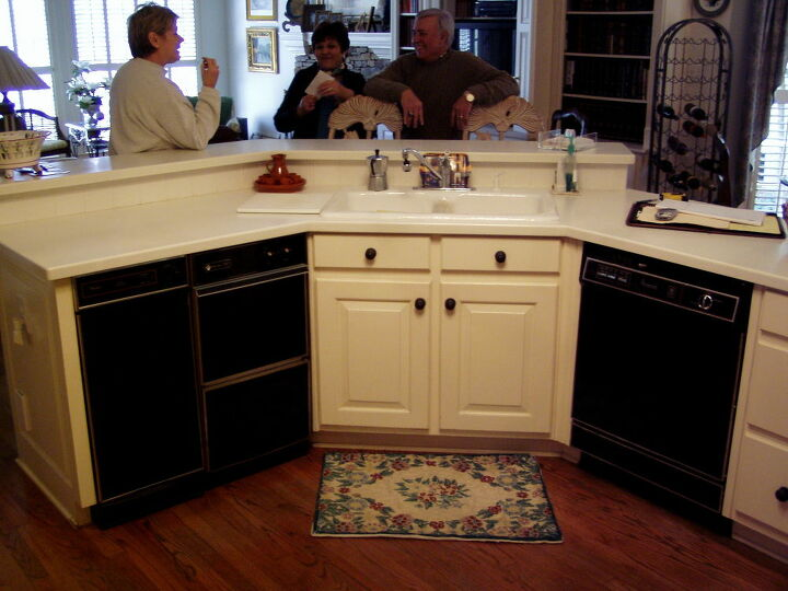 what could you do with two kitchen sinks, electrical, kitchen backsplash, kitchen design, kitchen island, The Kitchen Before