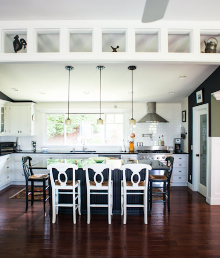 dark gorgeous kitchen, home decor, kitchen design