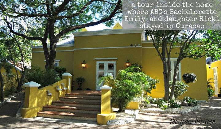 home in Curacao where Emily and Ricki stayed