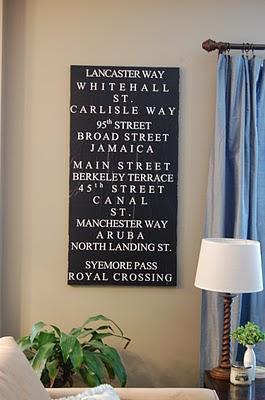 diy subway sign, crafts, home decor, Handmade Subway Sign