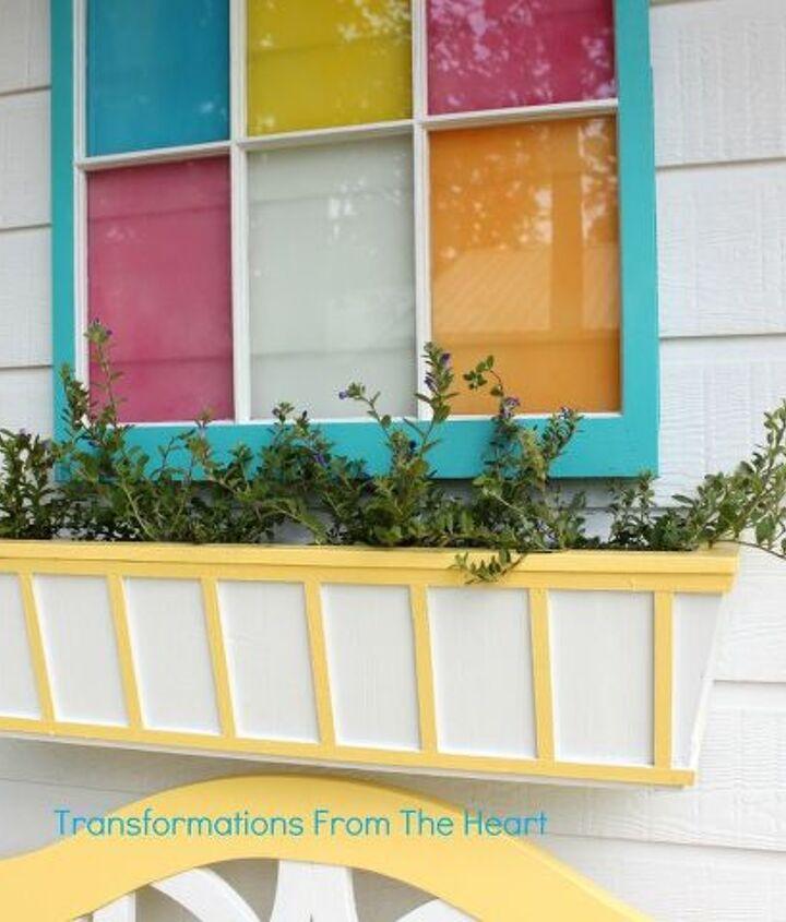 DIY Window Box planter