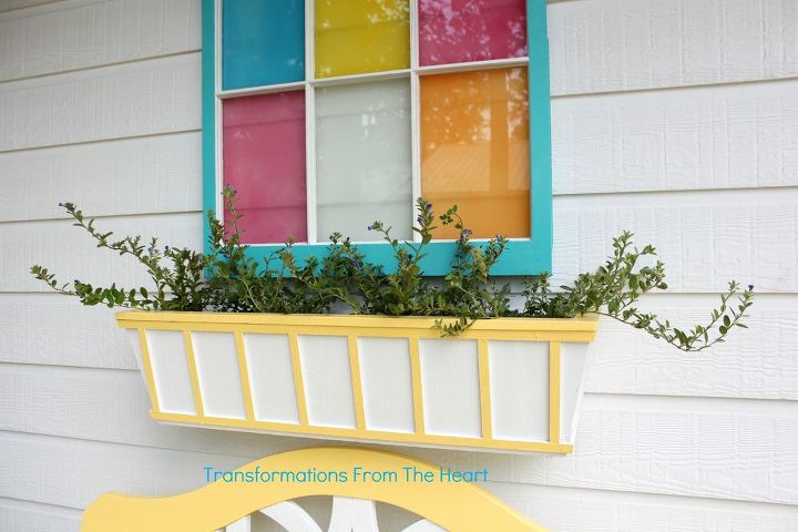 DIY Window Box planter