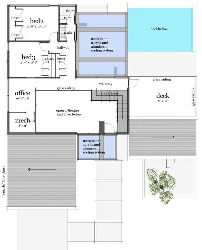 sawhorse modern house design, home decor, home improvement