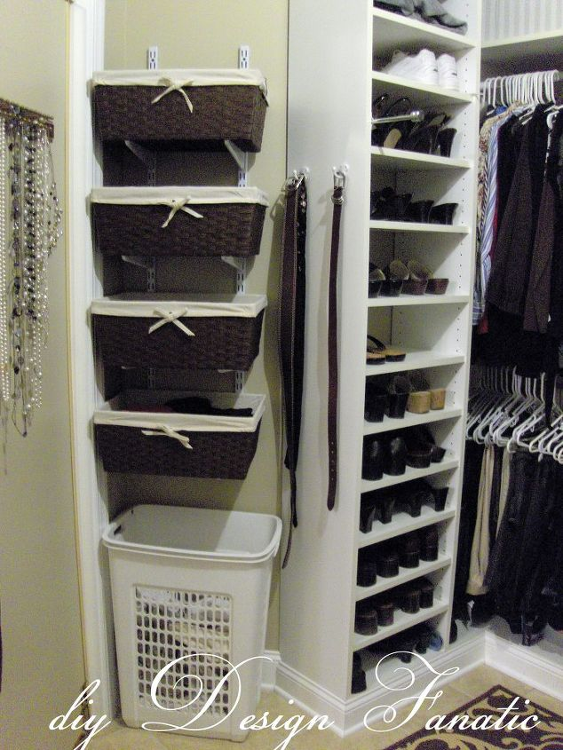Organized Master Bedroom Closet | Hometalk