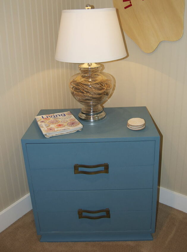 campaign dresser update, painted furniture