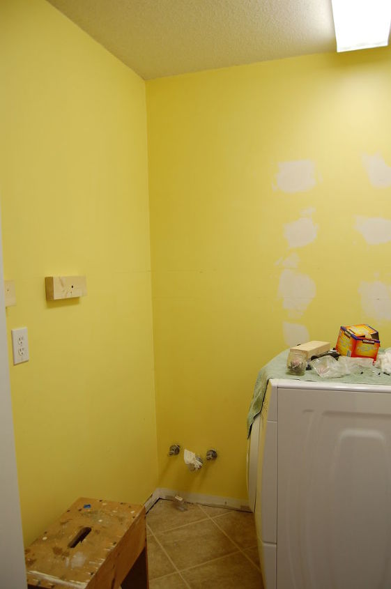 "Once painted a bright yellow, this color didn't really help to ""sunny-up"" a space that actually needed a whole lot more."
