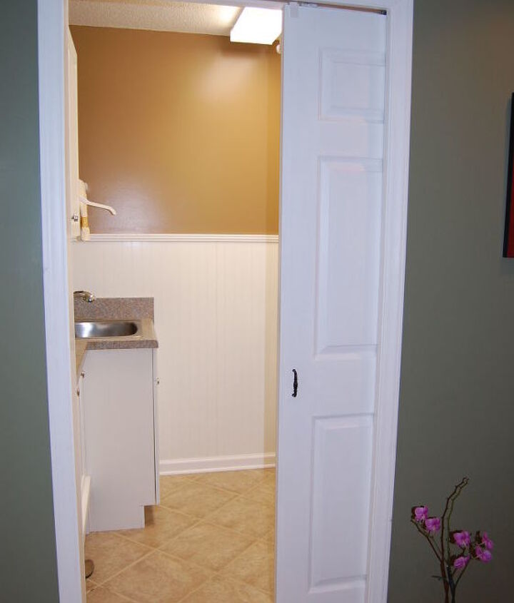 laundry room re do, doors, home decor, home improvement, laundry rooms