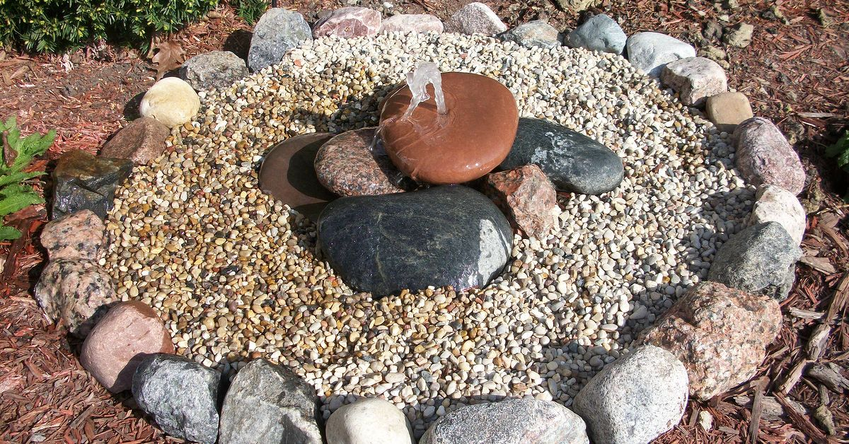 Bubbling Rock Water Feature Hometalk