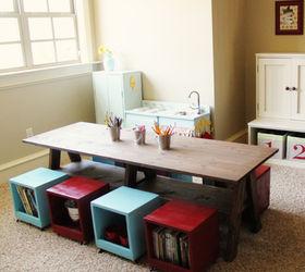 i built a kids table for my playroom hometalk rh hometalk com Personalized Playroom Tables Playroom Art