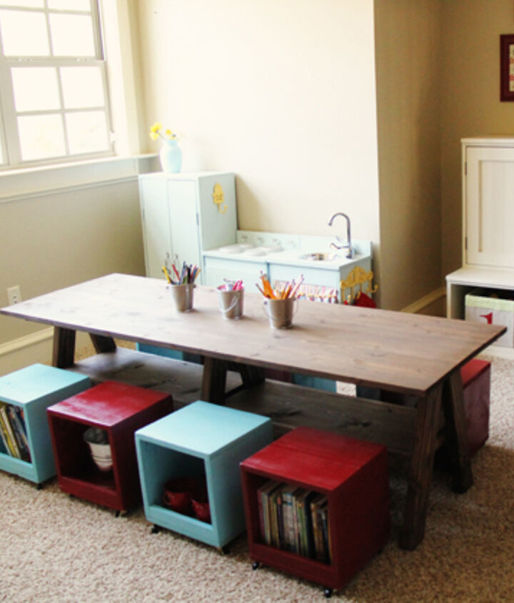 DIY Table for the Playroom