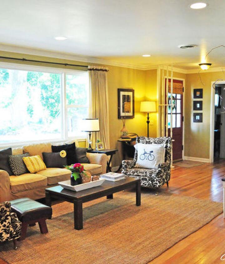 my living room reveal, hardwood floors, home decor, living room ideas
